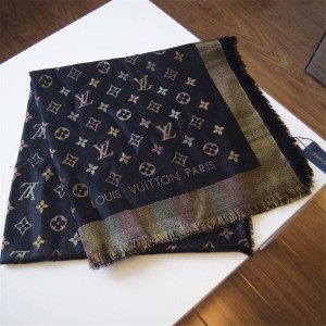 Louis Vuitton lv官方网站女士围巾SO SHINE MONOGRAM 披肩M71548