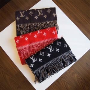Louis Vuitton法国lv官方披肩新款LV+Supreme 联名款双面围巾