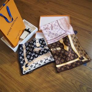 lv法国女士围巾MONOGRAM CONFIDENTIAL 方巾丝巾M78667/M78666/M70638