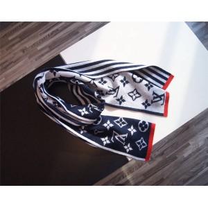 路易威登lv官方网站新款男士MONOGRAM STRIPES 针织围巾M76025