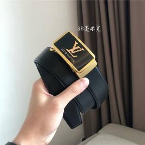路易威登香港lv官网新款男士皮带高端商务自动扣38毫米腰带