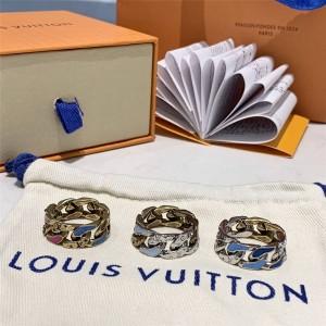 路易威登lv包包价格和图片新款CHAIN LINKS PATCHES 戒指