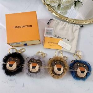 路易威登官网LV美国代购新款LION 包饰与钥匙扣M69512