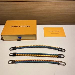 路易威登官网LV新款男士BRAIDLOCK 皮革手镯手绳MP059E