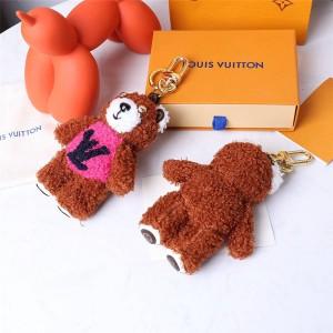 路易威登官网lv包包的价格TEDDY BEAR 包饰与钥匙扣M69854