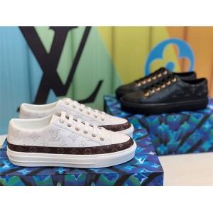 路易威登香港lv官网新款女鞋真皮镂空STELLAR 运动鞋1A87T2