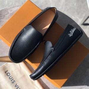 路易威登lv专卖店价格新款男鞋真皮PACIFIC COAST 便鞋豆豆鞋1A3PTI