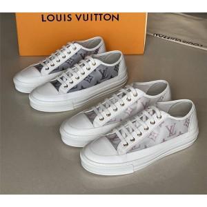 路易威登法国lv高仿新款女鞋板鞋STELLAR 运动鞋1A87F4/1A87EO