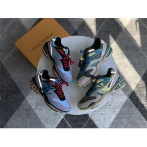 路易威登lv官网中文版反光男鞋拼色TRAIL 运动鞋1A7PEB/1A7P3Z