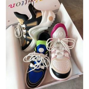 路易威登lv货源新款女鞋ARCHLIGHT 运动鞋老爹鞋1A7TVV/1A87MH