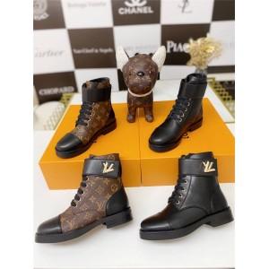路易威登广州lv批发新款女靴WONDERLAND 平底靴短靴1A2Q3I/1A1IXU