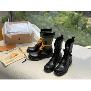 路易威登lv官网价格女靴METROPOLIS RANGER 平底靴1A64V5/1A6797