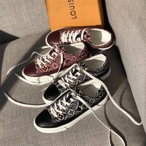 路易威登官网高仿lv板鞋1854系列STELLAR 运动鞋1A8DD7/1A8DDN