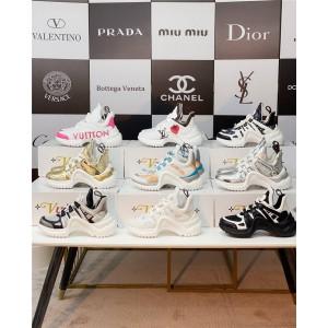 路易威登官网LV高仿新款女鞋女士ARCHLIGHT 运动鞋