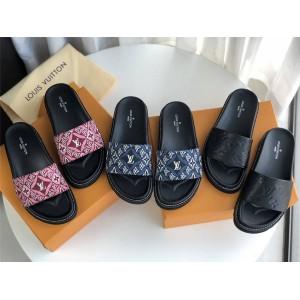 路易威登官网lv专卖店新款女鞋女士1854系列凉鞋拖鞋