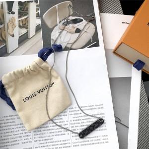 路易威登上海lv专卖店新款男士PIN LOCK 链条项链M68875