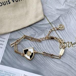 路易威登官网上海lv专卖店新款女士盾牌INTO LOUIS 手链M68392