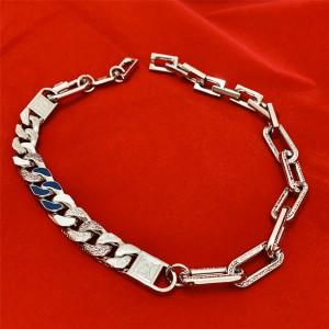 路易威登南京lv代购新款男士CHAIN LINKS PATCHES 项链MP2461