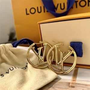 路易威登中文官网LV全球奢侈品网站LOUISE 圈形耳环M64288