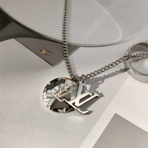 路易威登官网LV全球奢侈品男士MONOGRAM 吊坠项链M62485