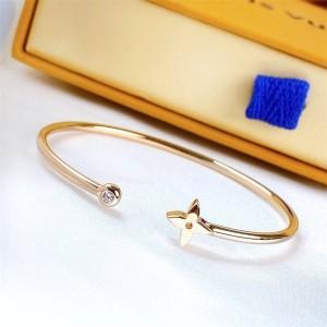 路易威登LV北京奢侈品折扣店IDYLLE BLOSSOM 18K金钻石手镯Q95532