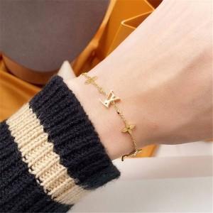 路易威登LV世界顶级奢侈品女士IDYLLE BLOSSOM 18K金钻石手链Q95588