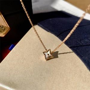 路易威登lv专卖店COLOR BLOSSOM 18K金贝壳项链Q93521