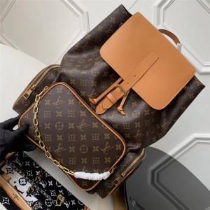 Louis Vuitton lv专卖店男士背包走秀款TRIO 双肩包M44658