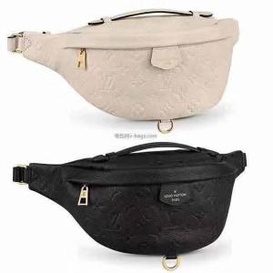 Louis Vuitton lv法国官网男包新款压纹真皮BUMBAG腰包胸包M44812