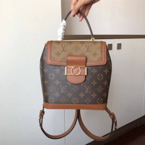 Louis Vuitton Lv正品包包女士双肩包经典老花达芙妮背包M44393