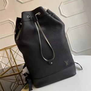 Louis Vuitton lv包批发男士背包新款真皮NOÉ 双肩包M55171
