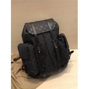 Louis Vuitton lv官网网站压纹牛皮CHRISTOPHER 大号双肩包M53286/M53285
