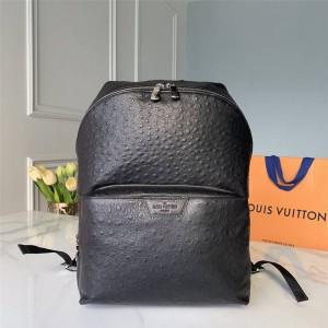 Louis Vuitton lv上海专卖店男士鸵鸟纹皮DISCOVERY背包M94714