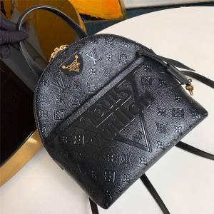 Louis Vuitton lv包包图片新款压纹全皮LV MOON 双肩包M44945