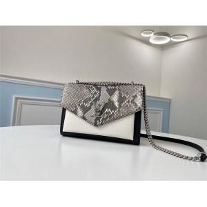 Louis Vuitton lv专卖店包包蛇皮MYLOCKME BB 手袋N97005