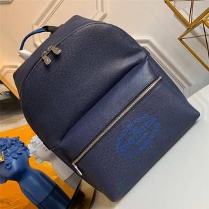 Louis Vuitton lv官网男包真皮DISCOVERY 小号双肩包M30359