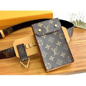 Louis Vuitton中国lv官网价格男士腰包老花UTILITY 35毫米腰带M0235Q
