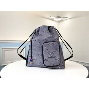 Louis Vuitton lv中国官网男士背包新款2054未来系列抽绳双肩包M44940
