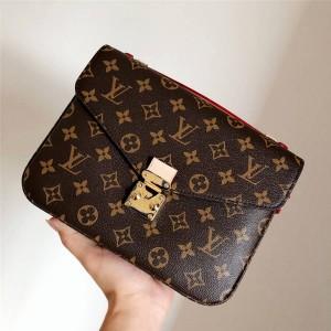 Louis Vuitton/路易威登LV官网新款POCHETTE MÉTIS 手袋邮差包M40780