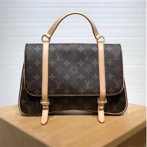 Louis Vuitton高仿lv包包经典复刻中古系列手提公文包书包背包45380