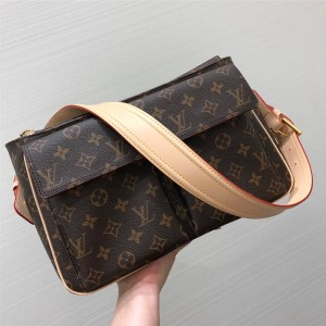 Louis Vuitton lv专卖店包包老花中古系列肩背公文包45465