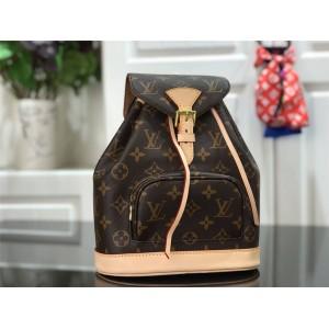 Louis Vuitton法国lv女士Monogram老花系列Bosphore双肩包M51137