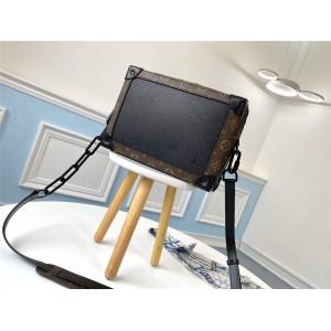 路易威登lv官方网站男包十字纹牛皮SOFT TRUNK 手袋盒子包M44478