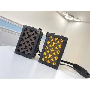路易威登lv包包价格和图片男包新款VERTICAL SOFT TRUNK 手袋M45044/M45079