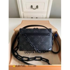 路易威登lv包包官网老花MINI SOFT TRUNK 手袋盒子包M44735/M44480