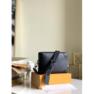 路易威登lv专卖店新款Virgil Abhol系列SUPPLE TRUNK邮差包M56599