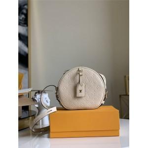 路易威登lv高仿全皮BOITE CHAPEAU SOUPLE 手袋圆饼包M45167/M45276