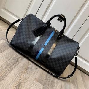 路易威登lv法国官网新款男包定制Keepall 45 旅行袋P00761