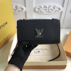 路易威登lv包包官网新款LOCKME CLUTCH 手袋M56088/M56087/M56136
