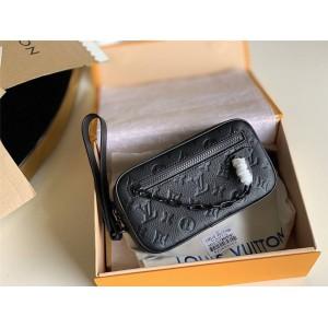 路易威登lv官方网站新款男士真皮POCHETTE VOLGA 手拿包M55703